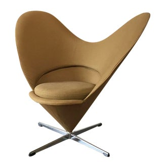 Vintage Verner Panton Vitra Heart Chair