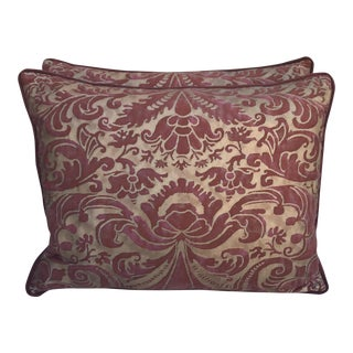 Caravaggio Fortuny Textile Pillows - A Pair