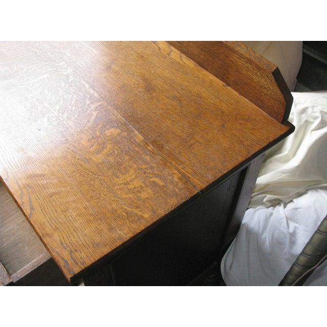 Image of Oak Twist Leg Sideboard