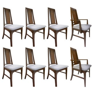 Mid-Century Modern Dining Chairs - Set of 8
