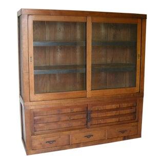 19th Century Kaidan Stair Cabinet