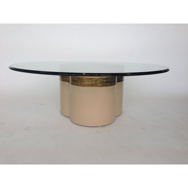 Bernhard Rohne Mastercraft Trifoliate Coffee Table - Image 6 of 6