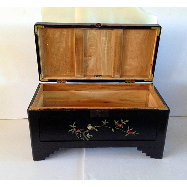 Chinese Chest With Stone Inlay - Image 11 of 11