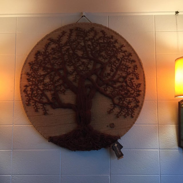 "Original ""Tree of Life"" Fiber Art by Dan Freedman - Image 3 of 8"