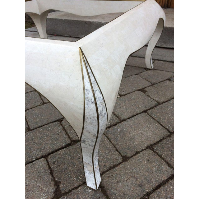 Maitland Smith Tessellated Stone Coffee Table - Image 8 of 8