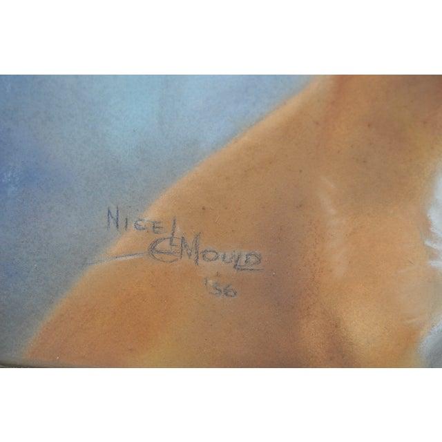 Nigel Mould Vintage 1956 Pastel Bulldog Portrait - Image 4 of 5