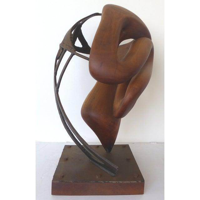 Image of Michael Moser Vintage 1990 Modernist Sculpture