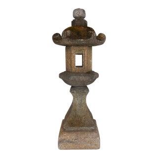 19th Century Japanese Stone Lantern