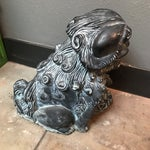 Image of Cement Foo Dog Statue