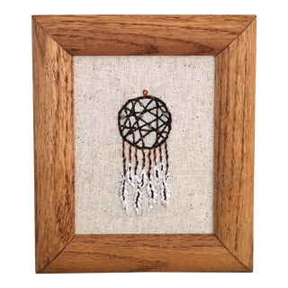 Dream Catcher Framed Embroidery