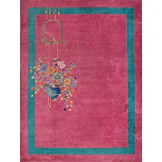 Chinese Art Deco Rug- 8′9″ × 11′4″