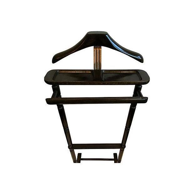 Wooden Valet Stand ~ Wooden valet stand chairish