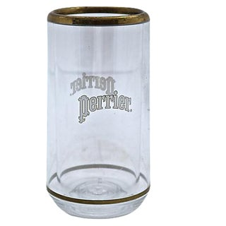 French Lucite Perrier Bottle Cooler