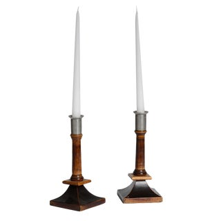 Pair of Swedish Candlesticks