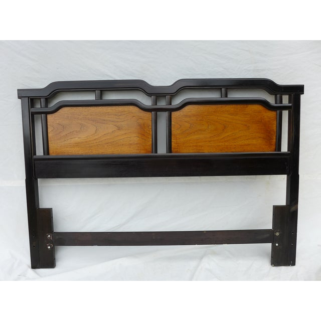 Thomasville Asian Inspired Queen Size Headboard - Image 2 of 7