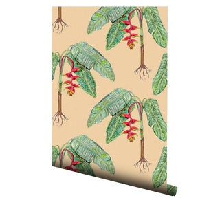 Heliconia Pre-Pasted Wallpaper