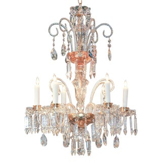 Fine Continental Glass Chandelier