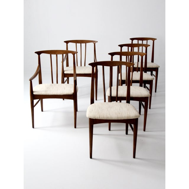 Mid-Century Danish Dining Chairs - Set of 6 - Image 3 of 11
