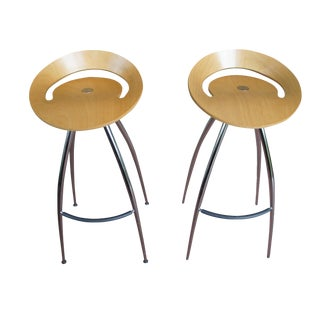 Lyra Bar Stools by Magis - a Pair
