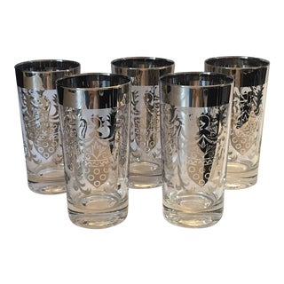 Vintage Kimiko Shield Glassware - Set of 6