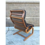 Image of Norwegian Leather Tension Chair