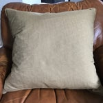 Image of Gray & Copper Art Deco Pillow
