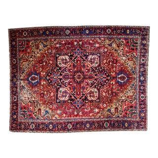 """Vintage Heriz Carpet - 8'6"""" X 10'10"""""""