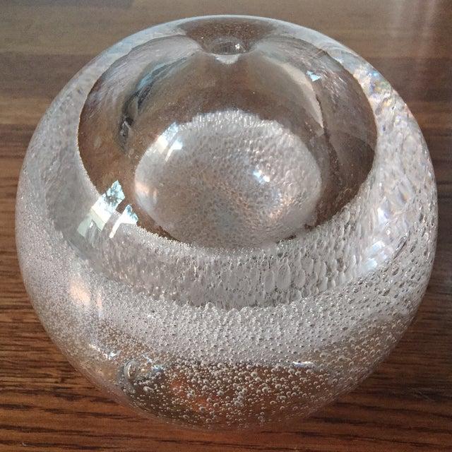 Minimalist Spherical Glass Vase - Image 2 of 4