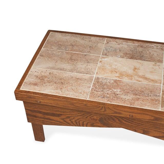 1970s Ceramic Tile Top Coffee Table Chairish
