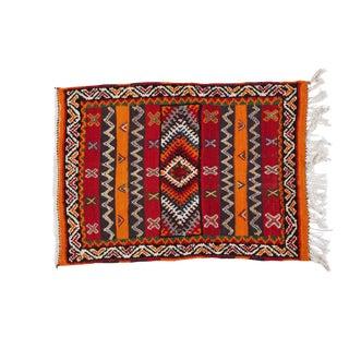 Small Moroccan Berber Rug - 2′ × 3′3″