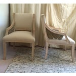 Image of Vintage Swan Wings Arm Chairs - A Pair