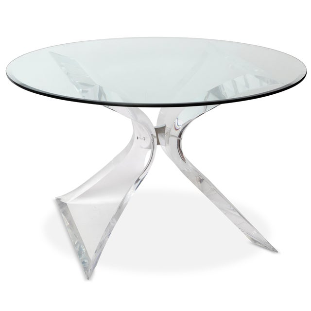 Image of Butterfly Dining Table by Lion in Frost
