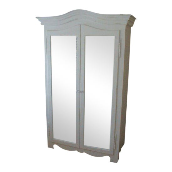 Image of Grande French Mirrored Armoire