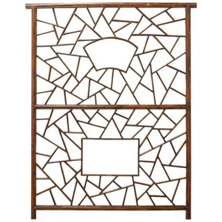 A. Rudin Chinese Carved Lattice Panel