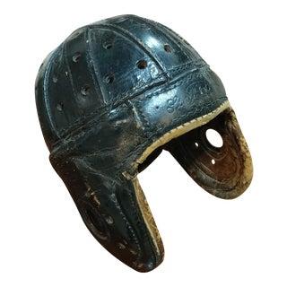 Antique Leather Football Helmet, Circa 1920s