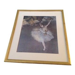 "Edgar Degas ""The Star"" Ballerina Fine Print"