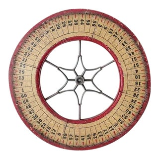 Antique Game Wheel by State Novelty Company