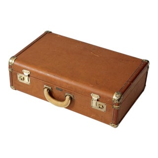1950s Vintage Towncraft Suitcase