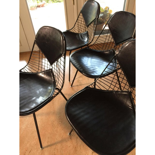 Eames for Herman Miller Black DKR-2 Bikini Chairs - Set of 4 - Image 7 of 11