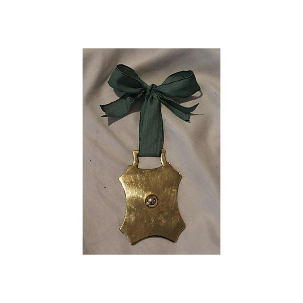 Antique English Horse Brass Ornament - Image 2 of 3