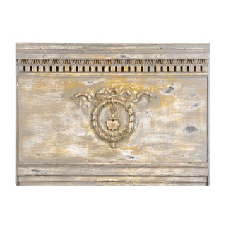 20th Century Neoclassical Panel -Architectural Wall Decoration-