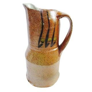 Glazed Ceramic Pitcher