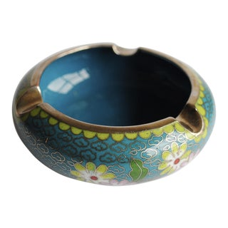 Vintage Cloisonne Ashtray