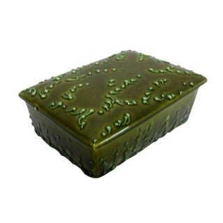 Raymor Italian Ceramic Covered Trinket Box