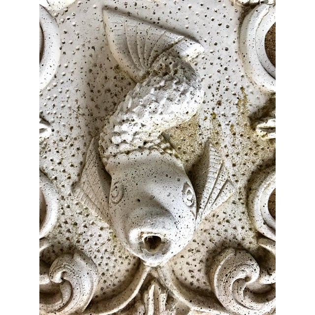 Cast Stone Fish Fountain - Image 3 of 3