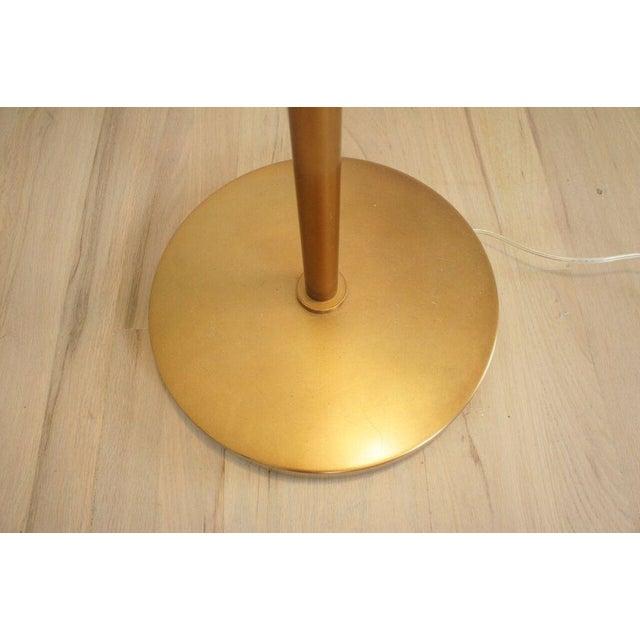 Brass Floor Lamp - Image 8 of 8