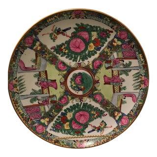 Vintage Porcelain Hand Painted Plate