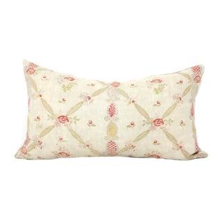 Antique French Linen Pillow