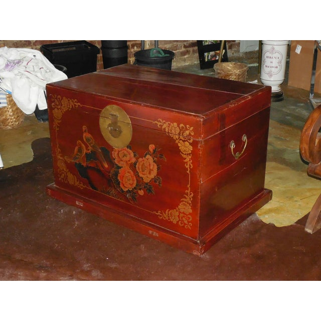 Image of Painted and Gilt Chinese Trunk C.1925