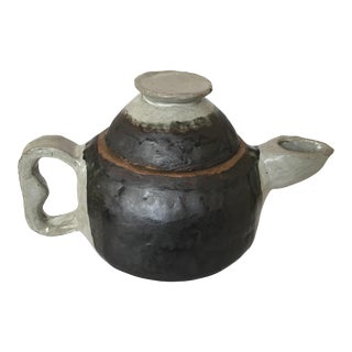 Primitive Handmade Tea Pot